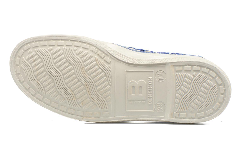 Sneaker Bensimon Tennis Elly Broderie Anglaise E blau ansicht von oben