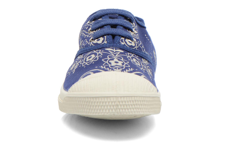 Baskets Bensimon Tennis Bandana E Bleu vue portées chaussures