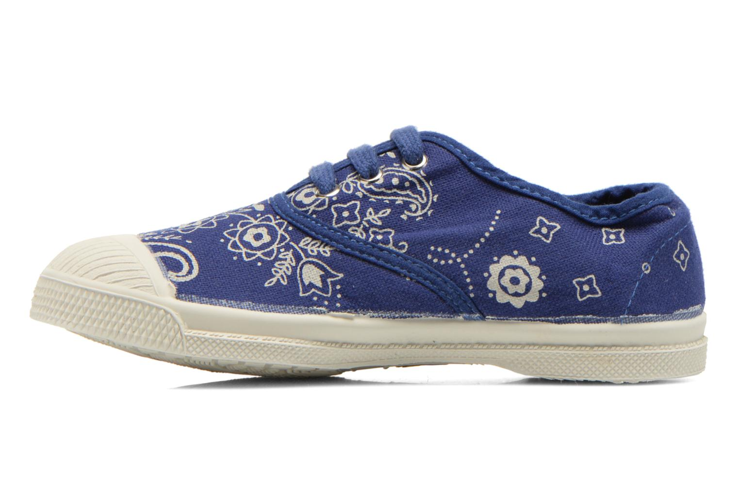 Baskets Bensimon Tennis Bandana E Bleu vue face