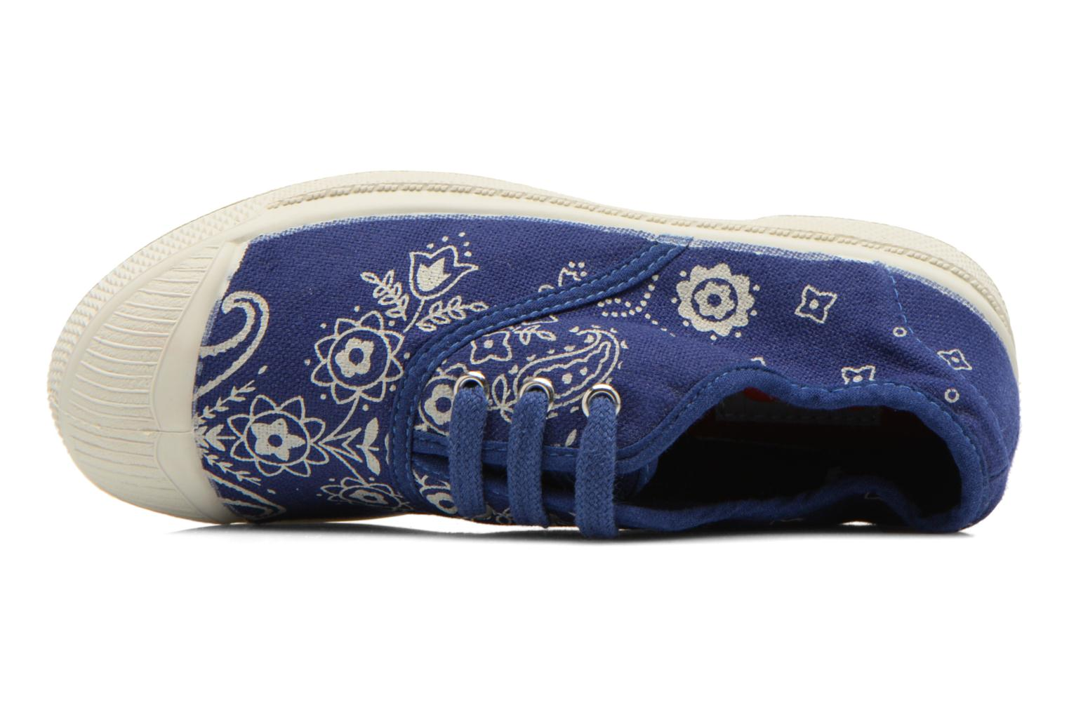 Trainers Bensimon Tennis Bandana E Blue view from the left
