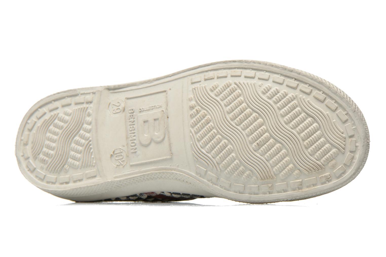 Sneaker Bensimon Tennis Milk E schwarz ansicht von oben