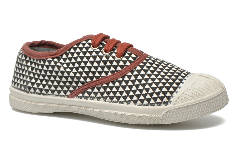 Sneaker Bensimon Tennis Milk E schwarz detaillierte ansicht/modell