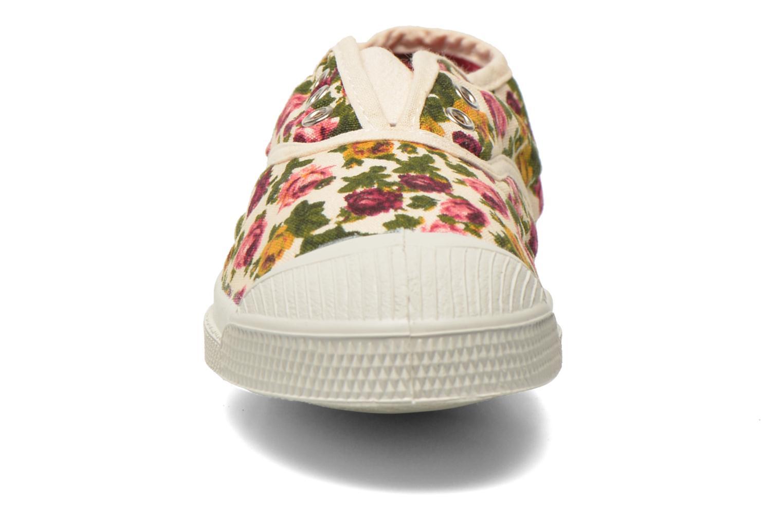 Baskets Bensimon Tennis Elly Fleur E Multicolore vue portées chaussures
