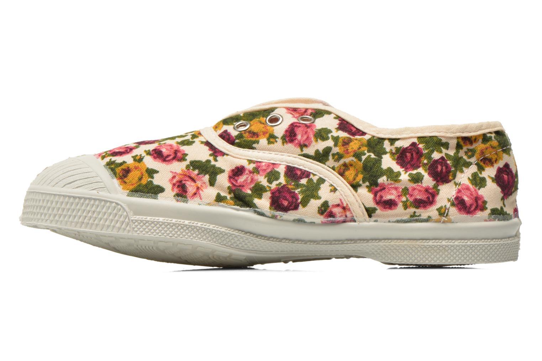 Sneaker Bensimon Tennis Elly Fleur E mehrfarbig ansicht von vorne