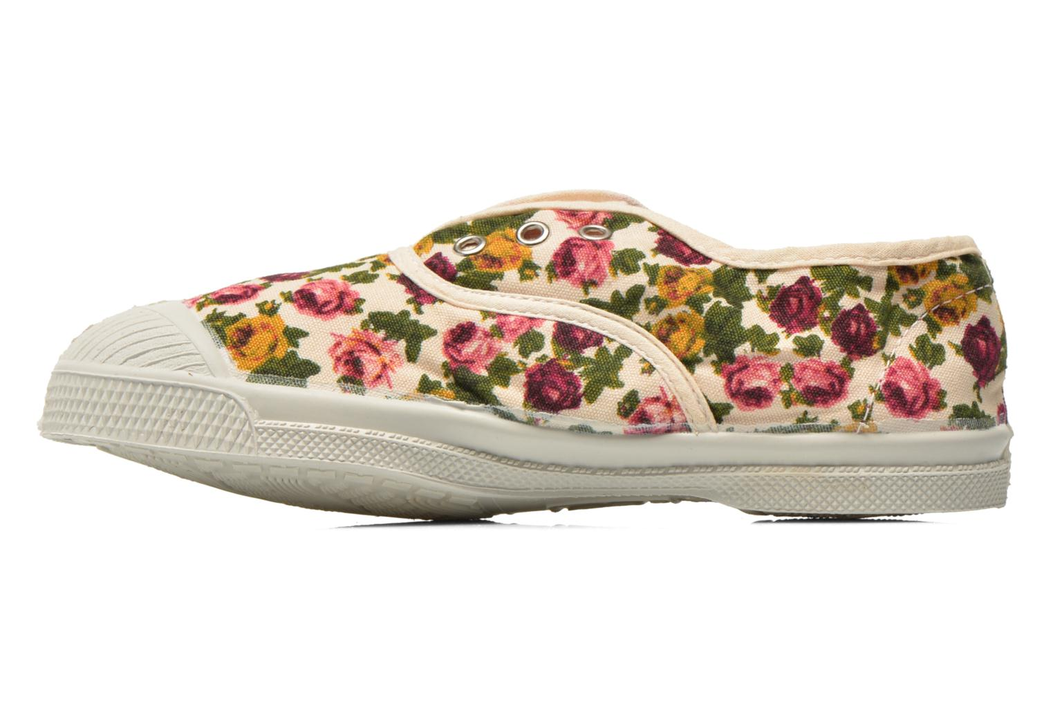 Baskets Bensimon Tennis Elly Fleur E Multicolore vue face