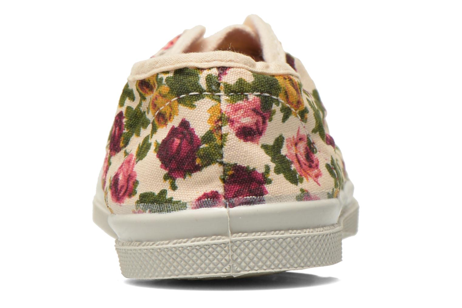 Trainers Bensimon Tennis Elly Fleur E Multicolor view from the right
