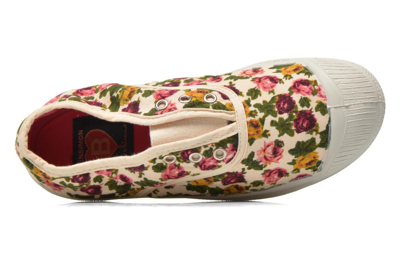 Sneaker Bensimon Tennis Elly Fleur E mehrfarbig ansicht von links
