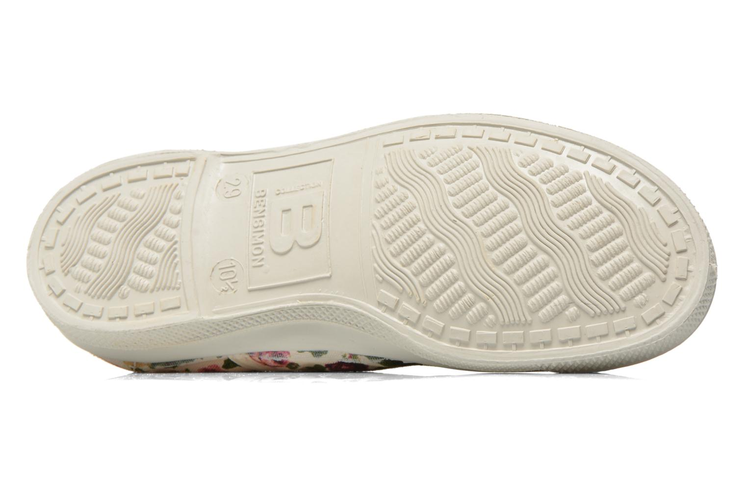 Trainers Bensimon Tennis Elly Fleur E Multicolor view from above