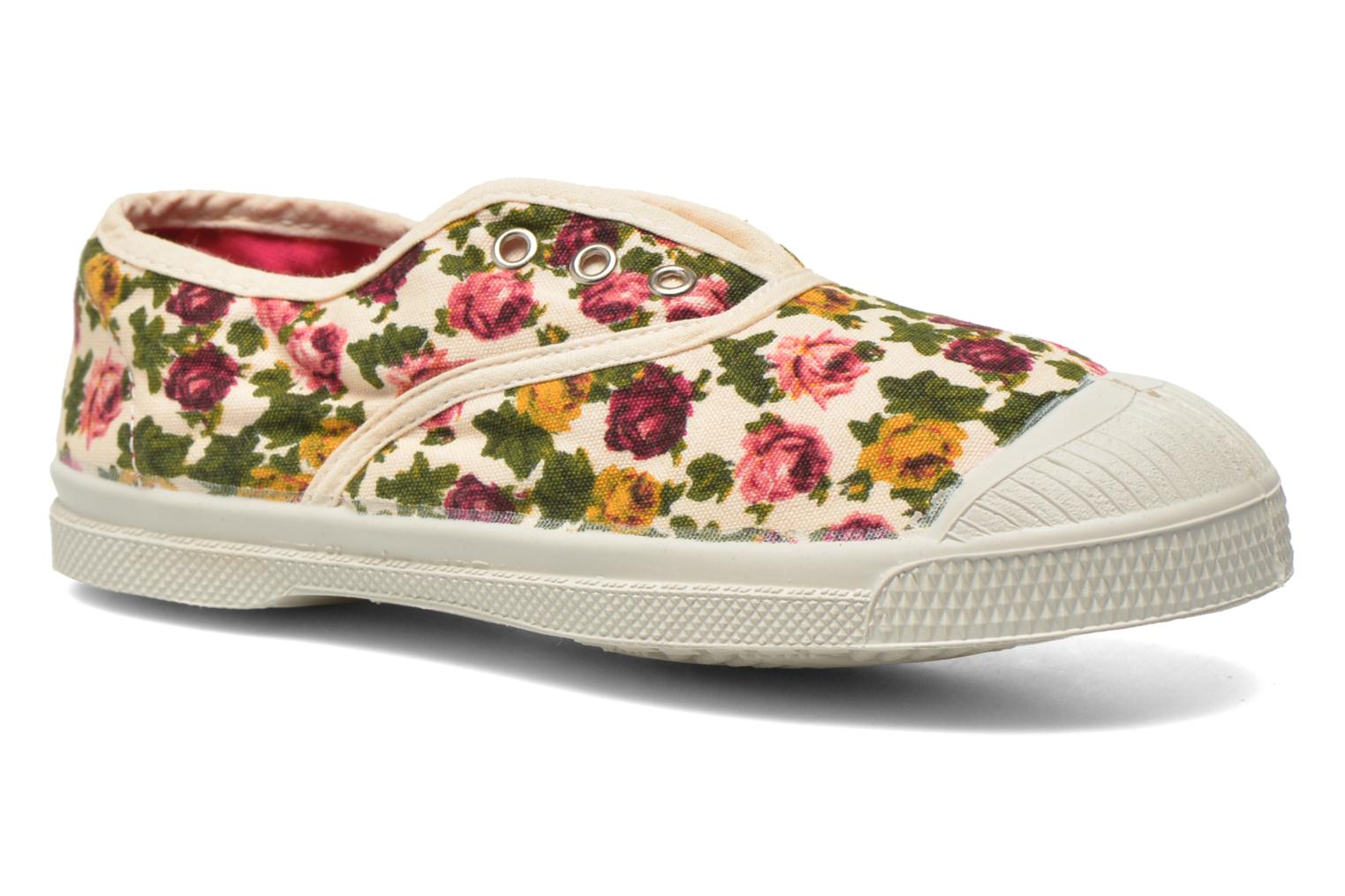 Baskets Bensimon Tennis Elly Fleur E Multicolore vue détail/paire