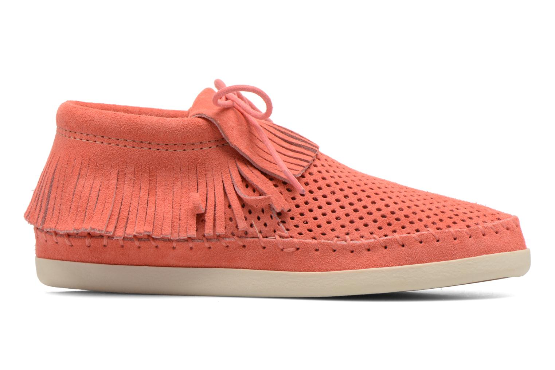 Bottines et boots Minnetonka Venice Perf Orange vue derrière