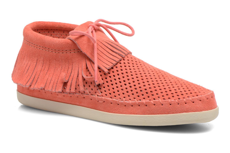 Bottines et boots Minnetonka Venice Perf Orange vue détail/paire