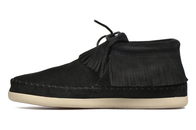Boots en enkellaarsjes Minnetonka Venice Zwart voorkant