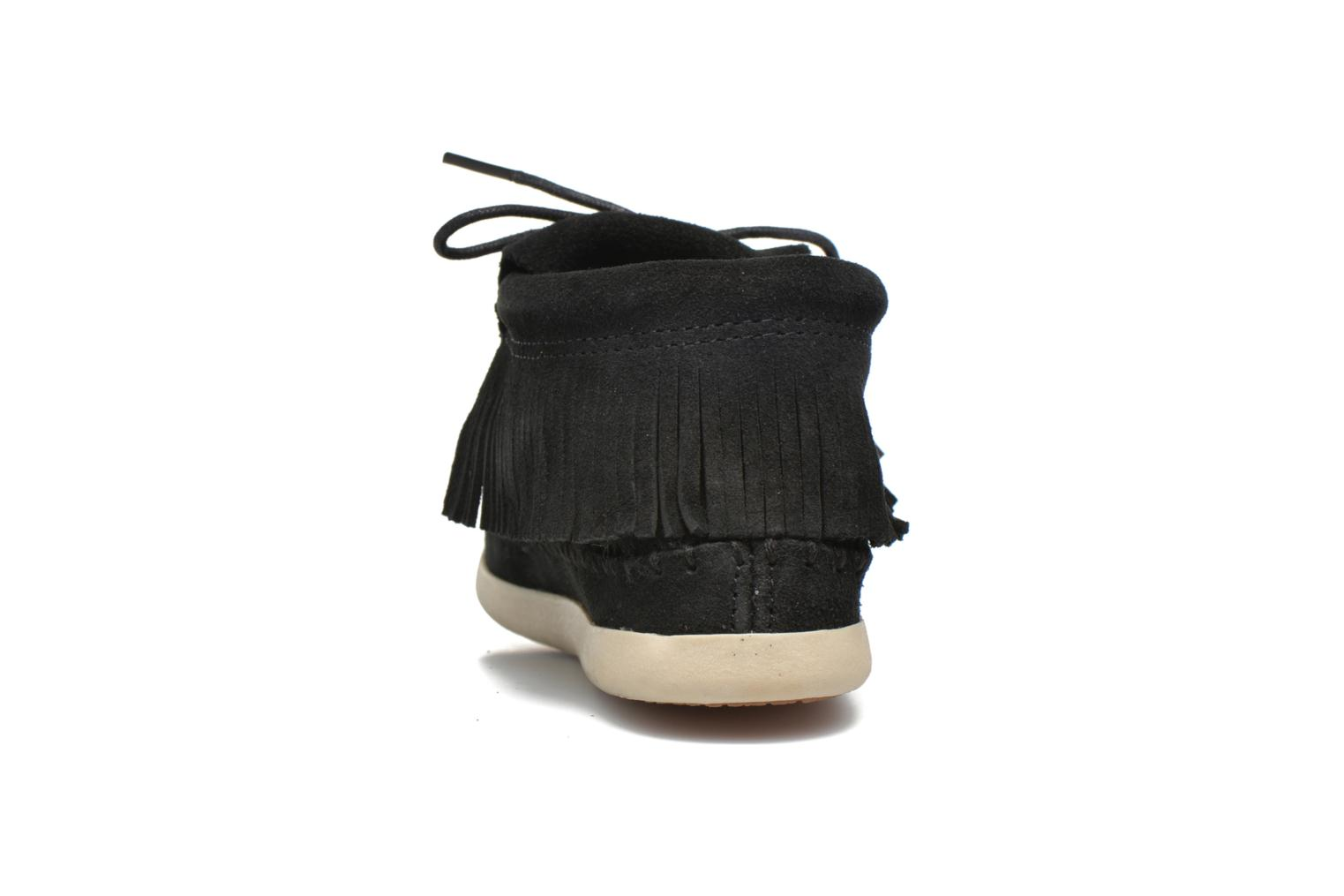 Ankle boots Minnetonka Venice Black view from the right