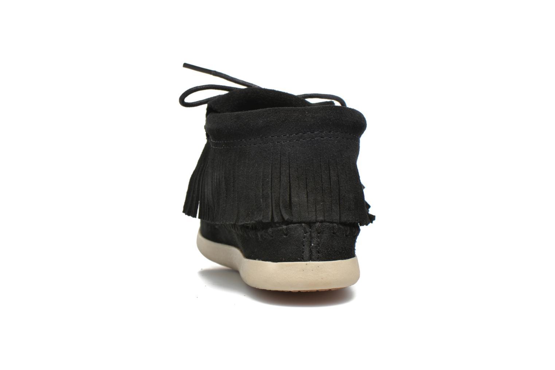 Bottines et boots Minnetonka Venice Noir vue droite