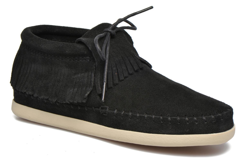 Boots en enkellaarsjes Minnetonka Venice Zwart detail