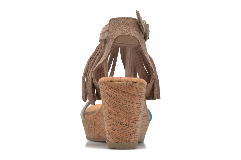Sandalen Minnetonka Poppy Beige rechts
