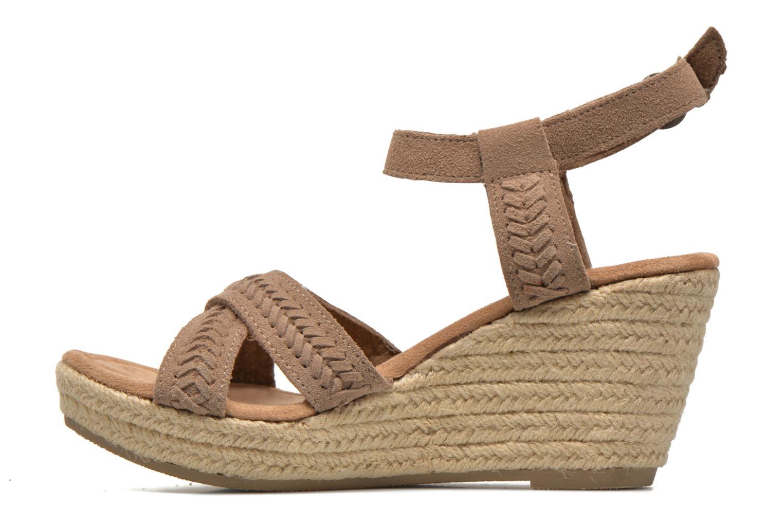 Sandali e scarpe aperte Minnetonka Naomi Beige immagine frontale
