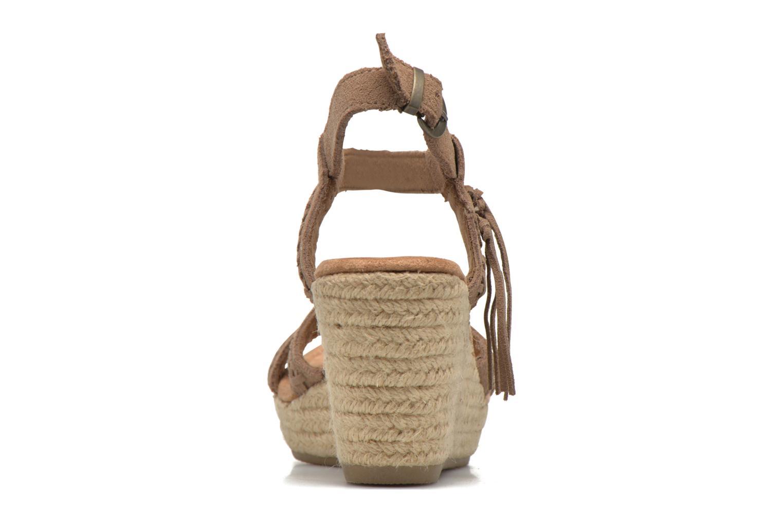 Sandali e scarpe aperte Minnetonka Naomi Beige immagine destra