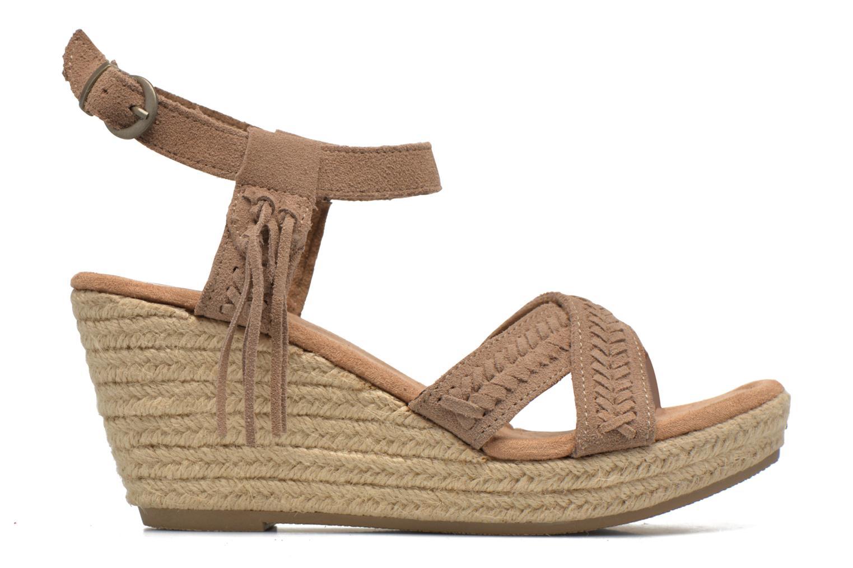Sandals Minnetonka Naomi Beige back view