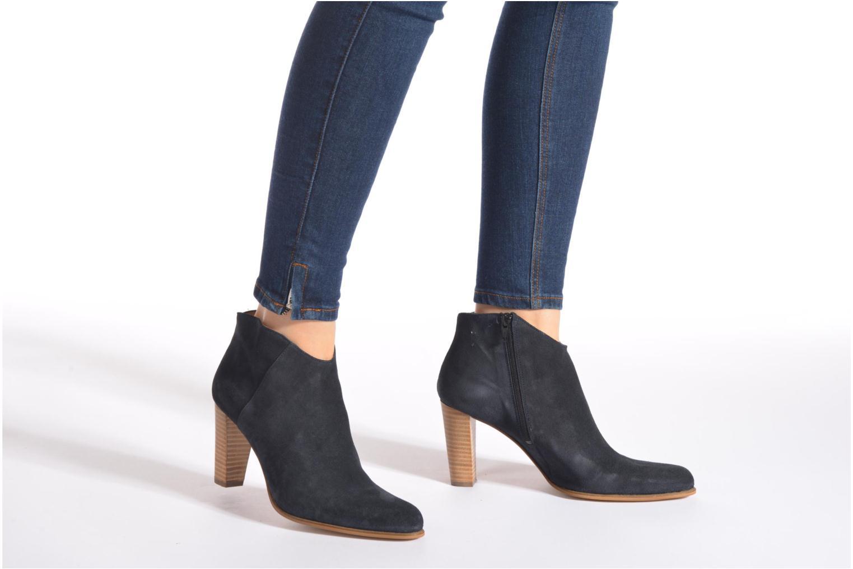 Bottines et boots Muratti Angel Bleu vue bas / vue portée sac