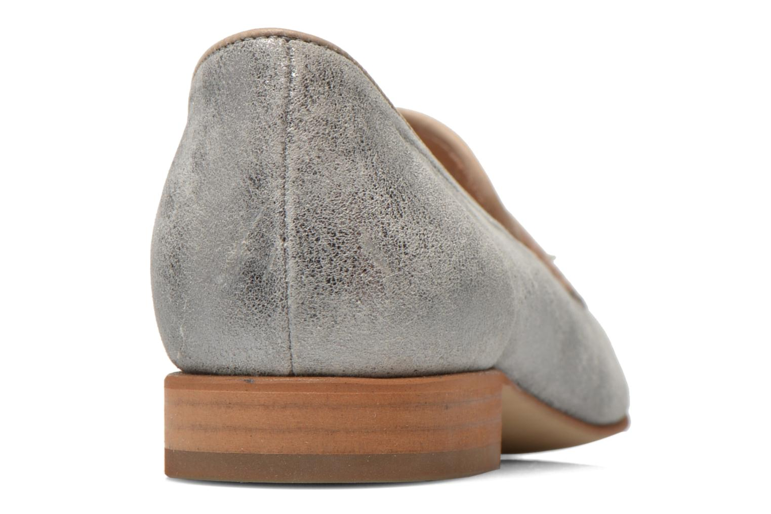 Loafers Muratti Lou-lou Silver view from the right