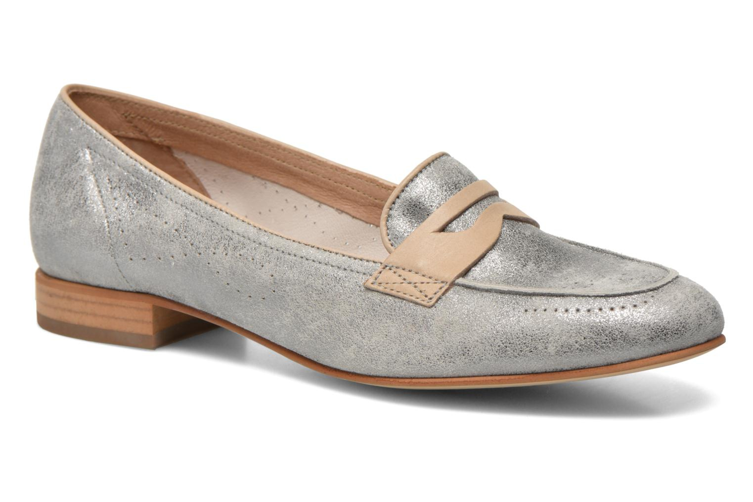 Loafers Muratti Lou-lou Silver detailed view/ Pair view
