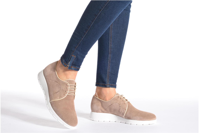 Zapatos con cordones Muratti Roche Beige vista de abajo