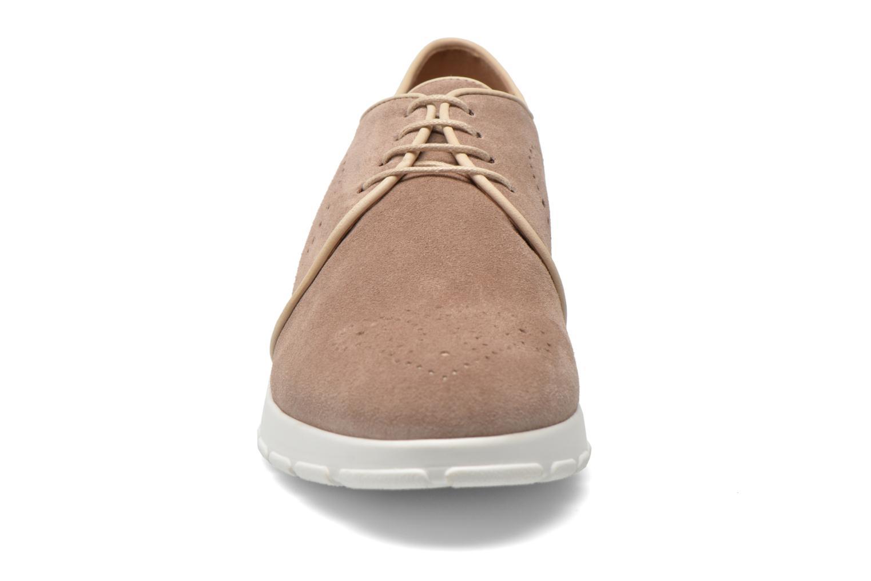 Zapatos con cordones Muratti Roche Beige vista del modelo