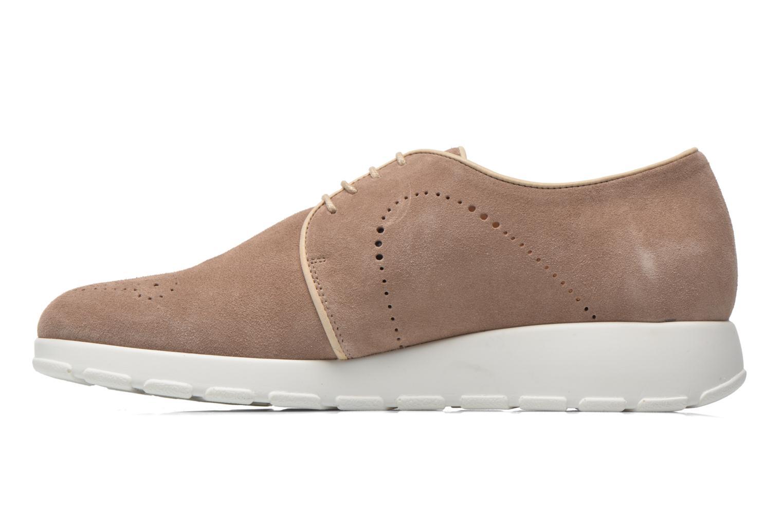 Zapatos con cordones Muratti Roche Beige vista de frente
