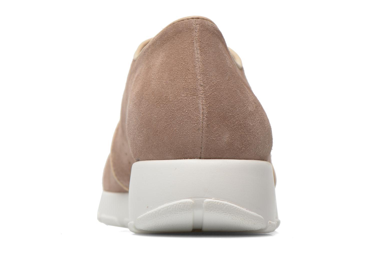 Zapatos con cordones Muratti Roche Beige vista lateral derecha