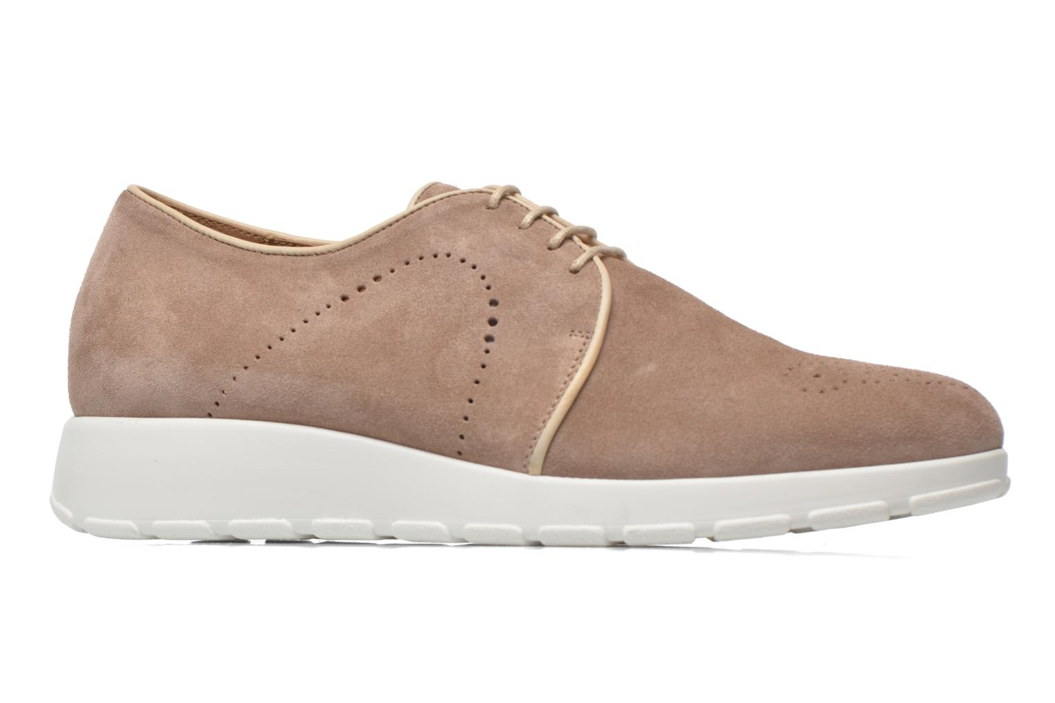 Lace-up shoes Muratti Roche Beige back view