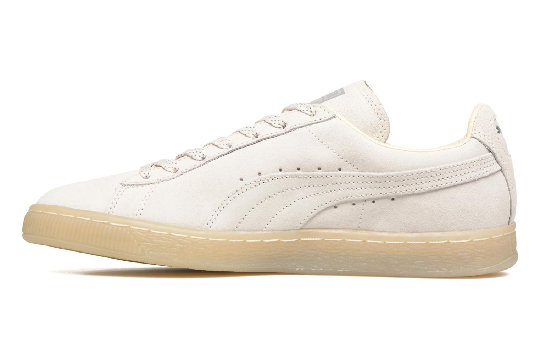 Suede Mono Ref White-Silver