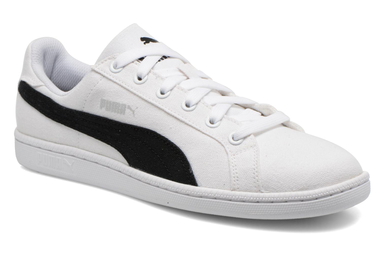 Puma Smash Cv White/black