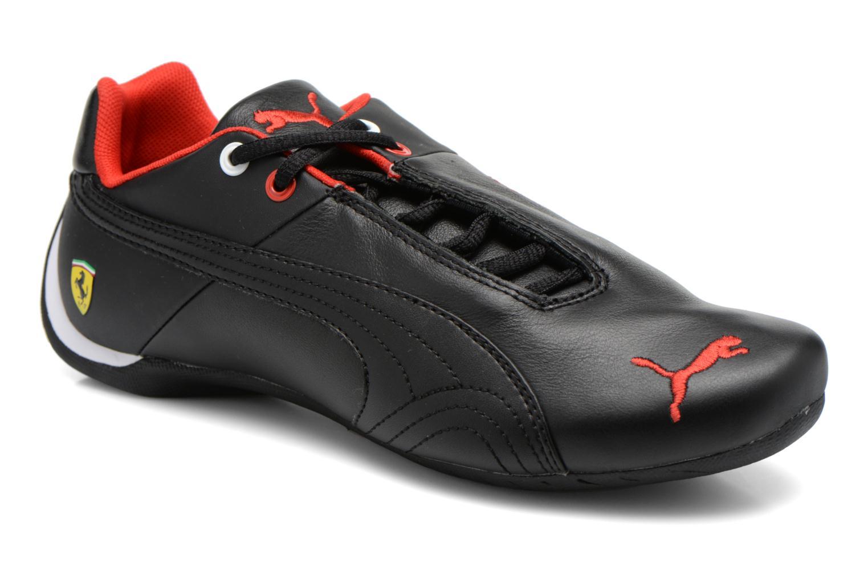 Deportivas Puma Future Cat Leather SF Negro vista de detalle / par