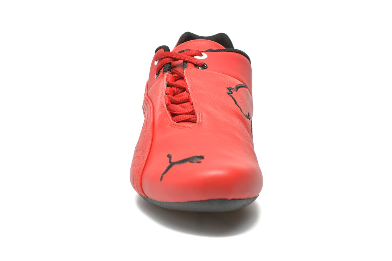 Baskets Puma Future Cat Leather SF Rouge vue portées chaussures