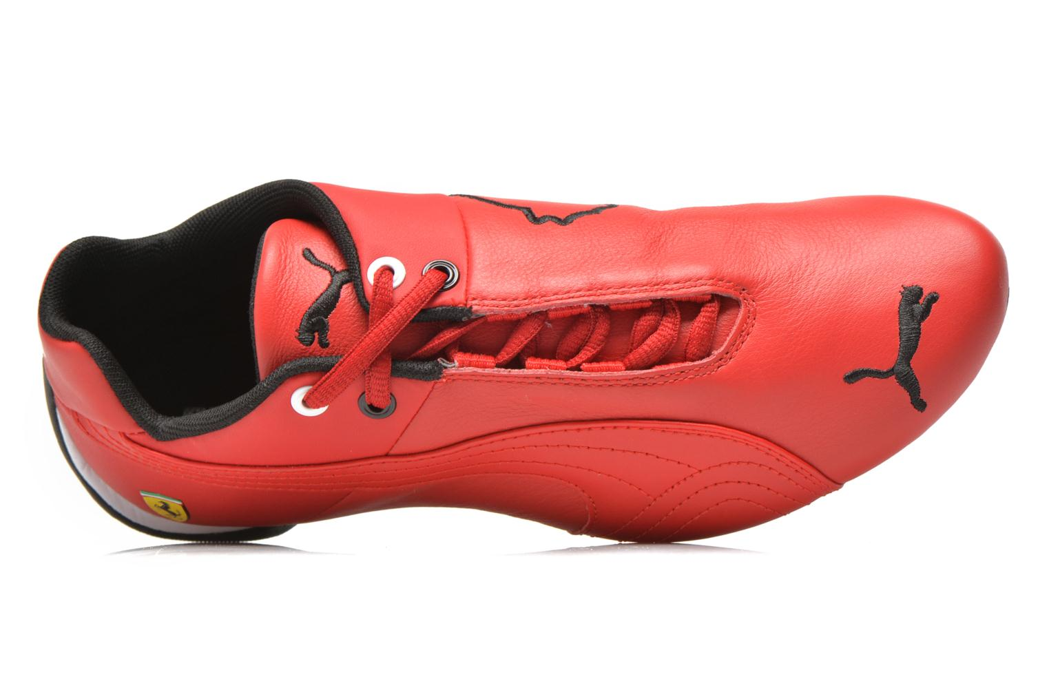 Deportivas Puma Future Cat Leather SF Rojo vista lateral izquierda