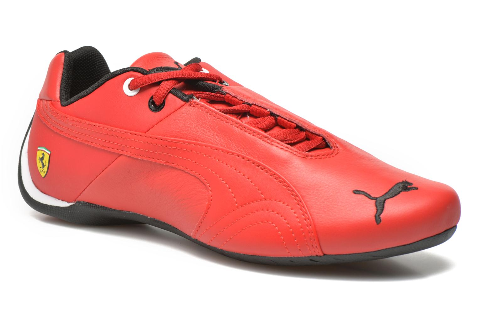 Deportivas Puma Future Cat Leather SF Rojo vista de detalle / par