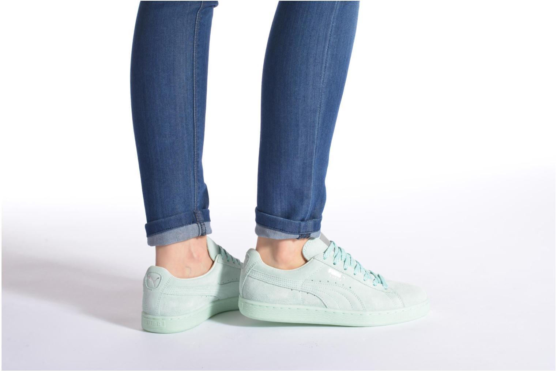 Sneakers Puma WNS Suede Mono Ref Rosa immagine dal basso