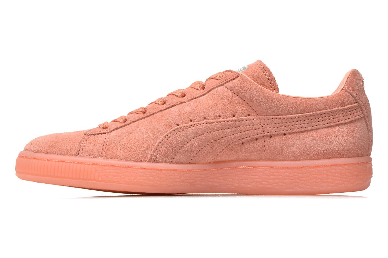 Baskets Puma WNS Suede Mono Ref Rose vue face