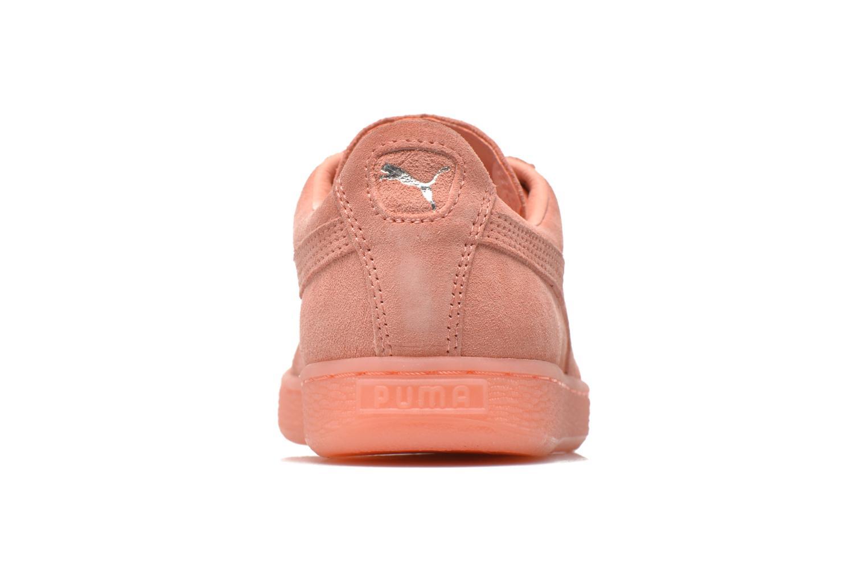 Sneaker Puma WNS Suede Mono Ref rosa ansicht von rechts