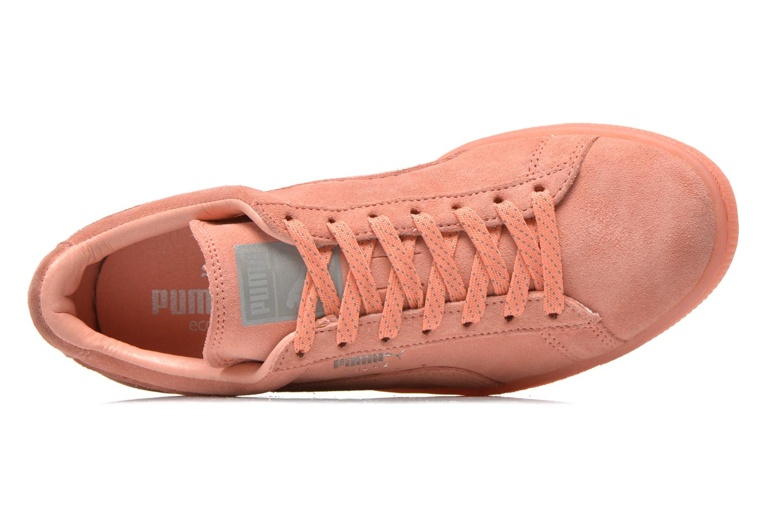 Sneakers Puma WNS Suede Mono Ref Pink se fra venstre