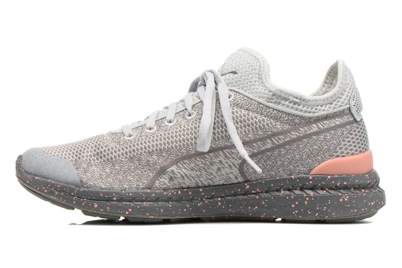 Sneakers Puma WNS Ignite Sock Woven Grijs voorkant