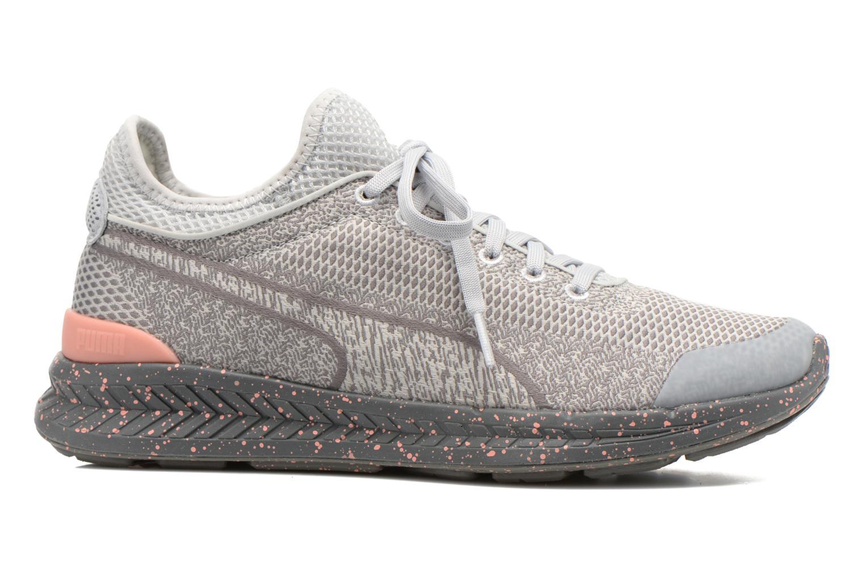 Sneakers Puma WNS Ignite Sock Woven Grijs achterkant