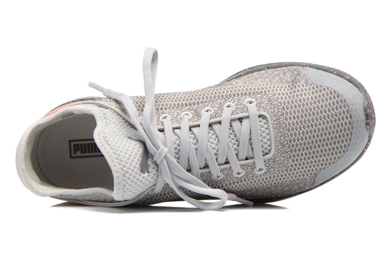 Baskets Puma WNS Ignite Sock Woven Gris vue gauche