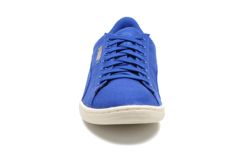 Baskets Puma WNS Puma Vikky CV Bleu vue portées chaussures