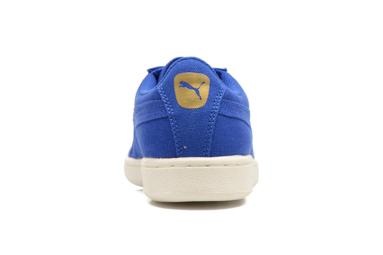 Baskets Puma WNS Puma Vikky CV Bleu vue droite