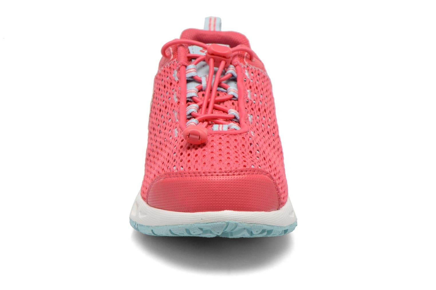 Chaussures de sport Columbia Youth Drainmaker III Rose vue portées chaussures