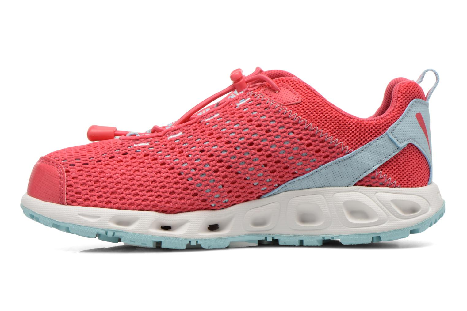 Chaussures de sport Columbia Youth Drainmaker III Rose vue face
