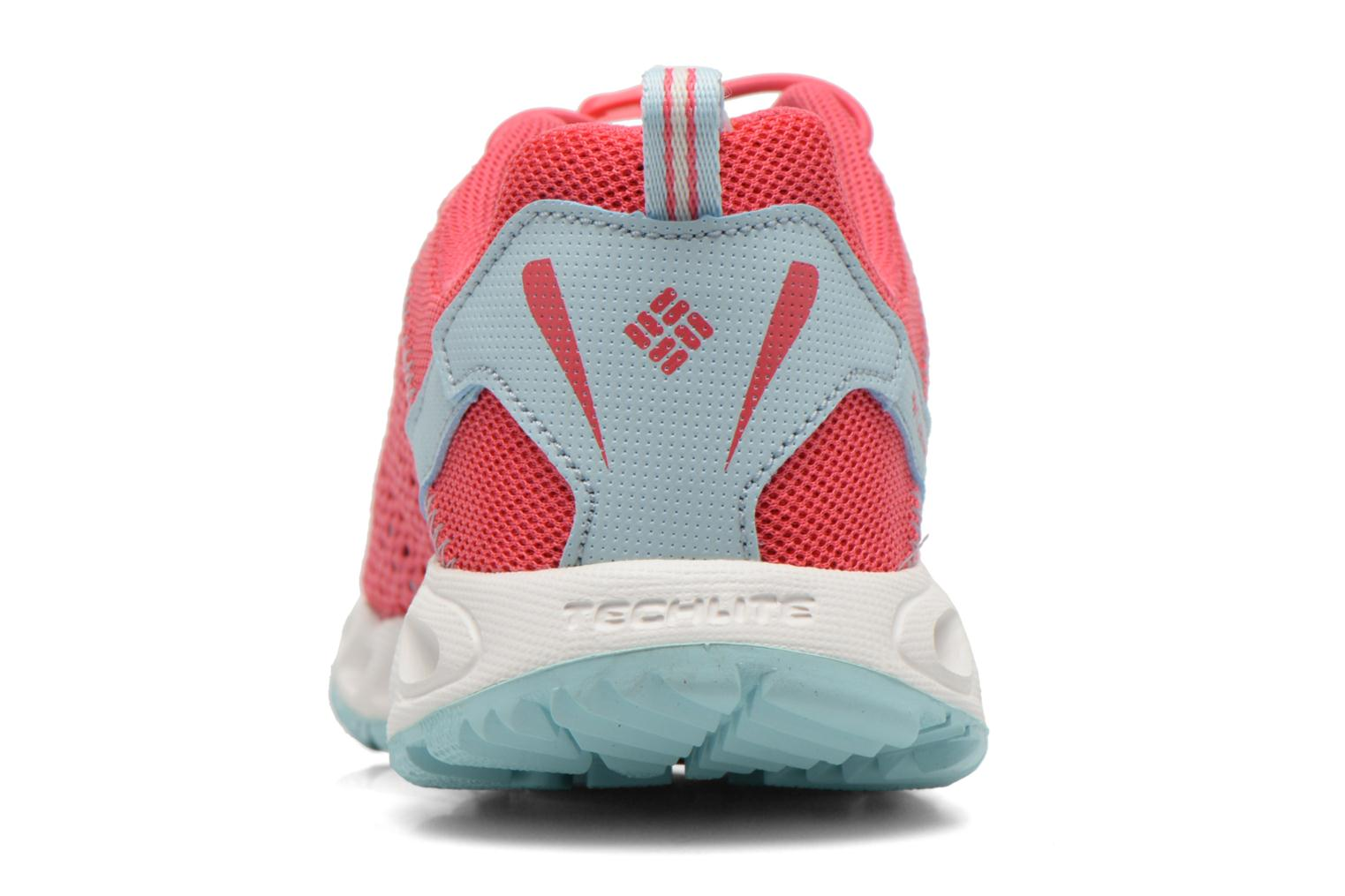 Chaussures de sport Columbia Youth Drainmaker III Rose vue droite