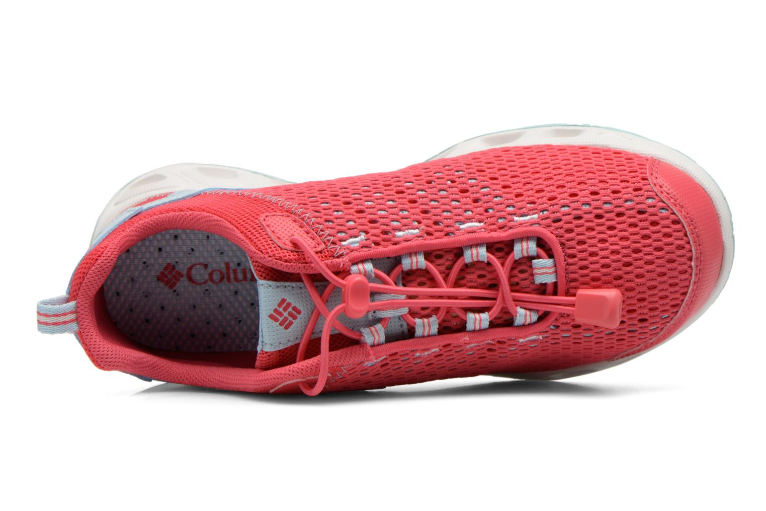 Sport shoes Columbia Youth Drainmaker III Pink view from the left
